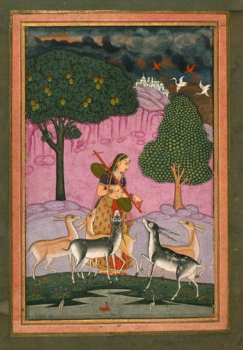 009-Album of Indian Miniatures and Persian Calligraphy- The Art Walters Museum MS. W.669