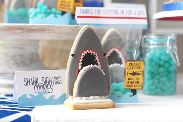 shark party... rah!