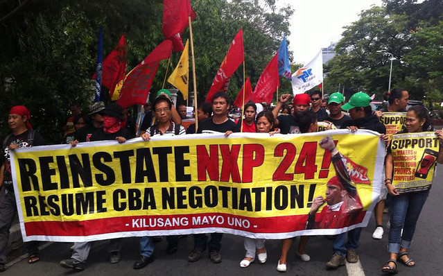 KMU joins Union League: NXP workers continue struggle for