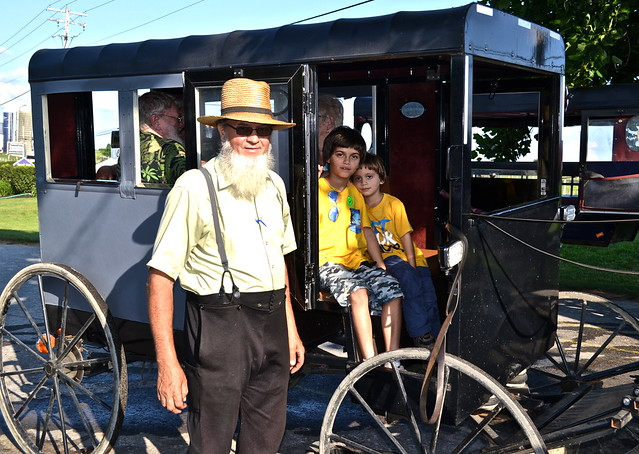 Our Buggy Ride - Amish Tour - Lancaster County PA