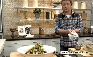 Cozinha na TV – Jamie Oliver