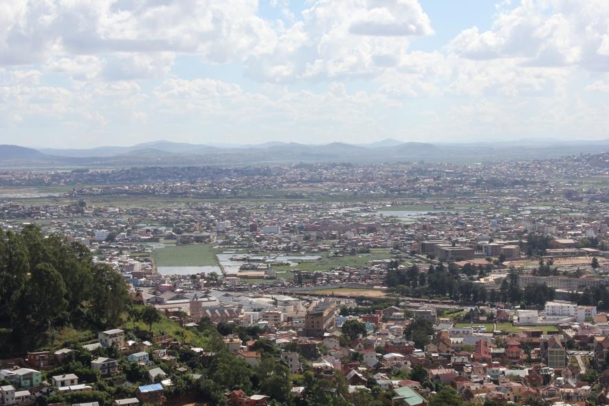 vue sur la ville Antananarivo