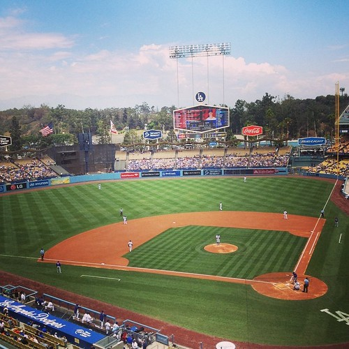 Greetings from Chavez Ravine. #ITFDB