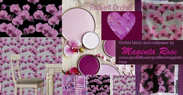 Radiant Orchid Interior design