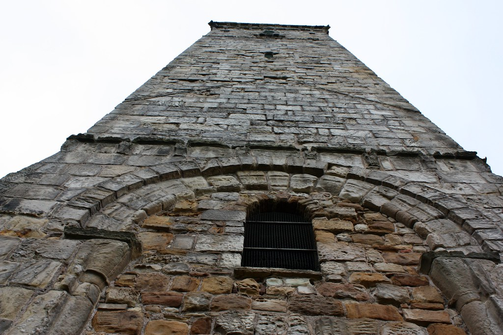 St Rule's Tower looking up
