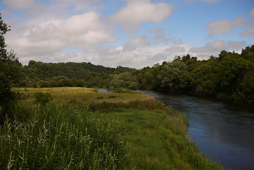 The Boyne river, intimately associated with Boann