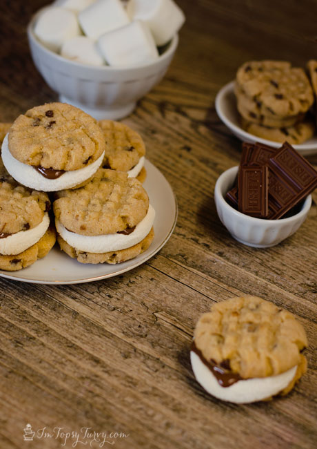peanut-butter-smores-cookie-sandwiches