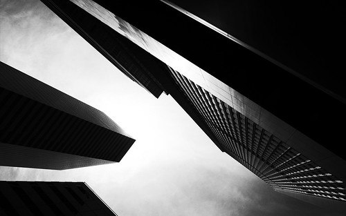 blackandwhite seattle architecture buildings ricohgr city pacificnorthwest contrast johnwestrock washington