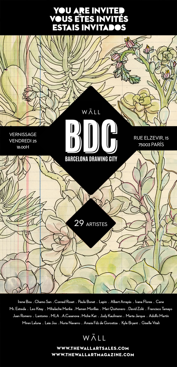 BDC Barcelona Drawing City exhibition