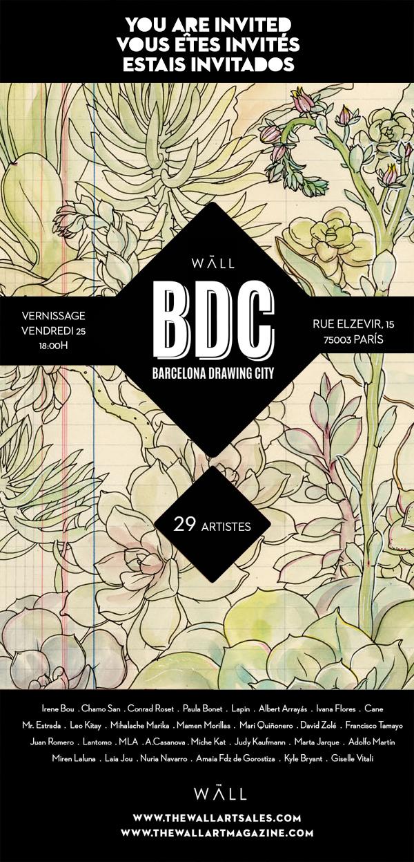 BDC Barcelona Drawing City exhibition