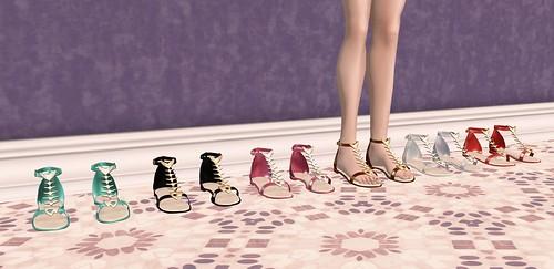 Lassitude & Ennui kitty sandals