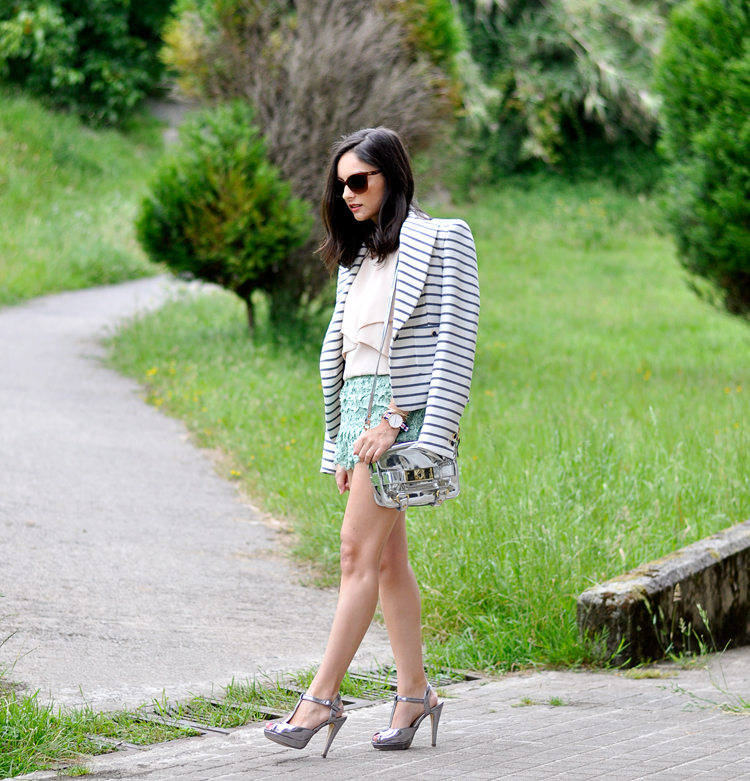 Lace Mint Short_09