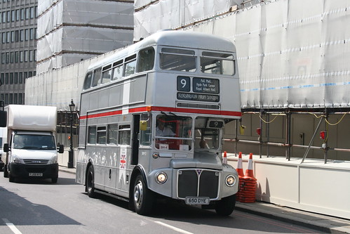 Tower Transit SRM3 (RM1650) on Route 9H, Hyde Park Corner - Last Day of Routemasters on Route 9H