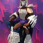 SDCC 2014 LEGO Shredder
