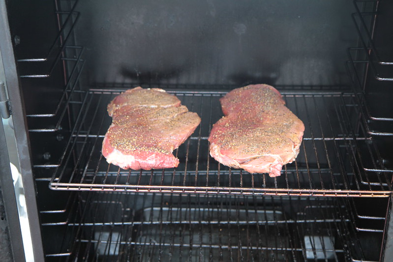 Smoked London Broil Sqwib Cooks