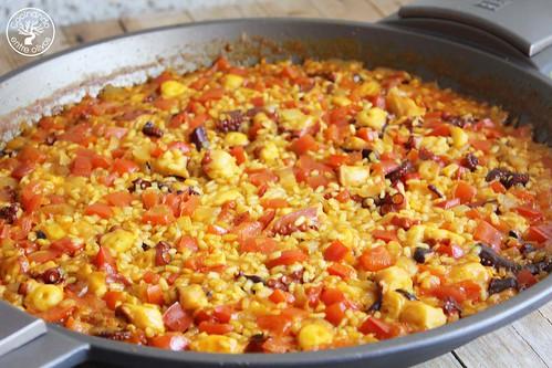 Arroz con pulpo www.cocinandoentreolivos.com (3)