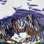 Tracy Felix; Capital Peak; Oil on panel;  48x36; 2014; Courtesy of William Havu Gallery, Denver -