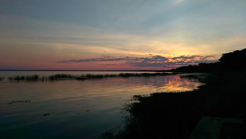 sunset florida lakefront lakemonroe thisisnow ilobsterit htconem8