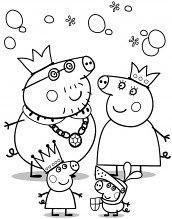 Desenho De Peppa Para Colorir 172x219 Desenhos Do Peppa Pig Para