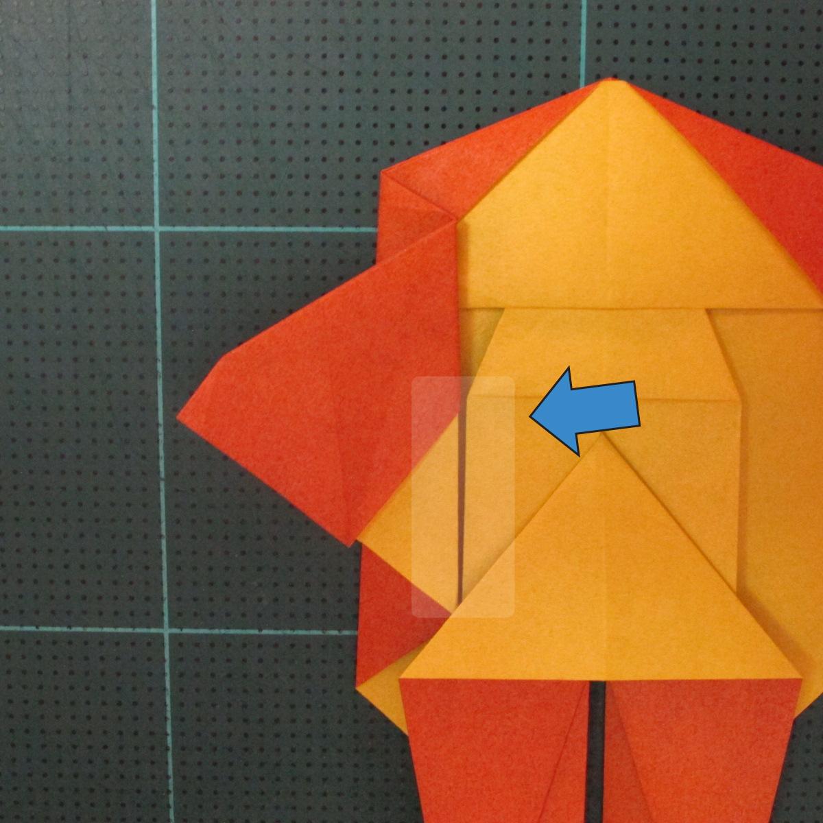 การพับกระดาษเป็นรูปปลาคาร์ฟ (Origami Koi Fish) 019