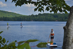 Paddleboarding Courses with L.L.Bean Outdoor Discovery School at Sunday River