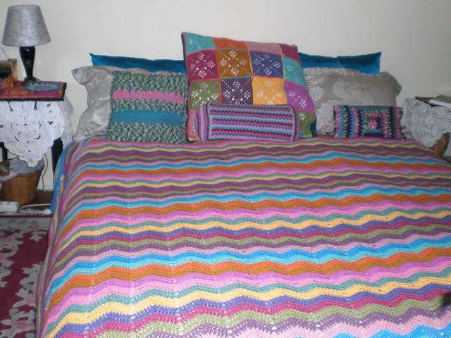 Bedspread Chevron Style