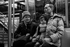 Family on the G Train to Brooklyn