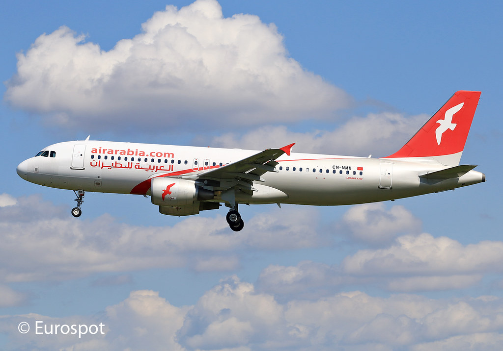 CN-NMK - A320 - Air Arabia Maroc