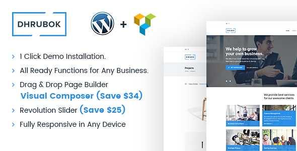 Dhrubok WordPress Theme free download