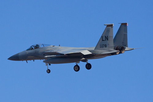 United States Air Force McDonnell Douglas F-15C Eagle 86-0178