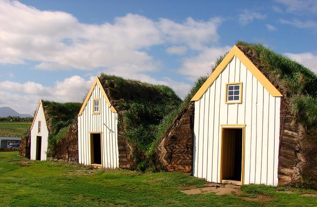 Maisons islandaises typiques, Musée de Glaumbaer