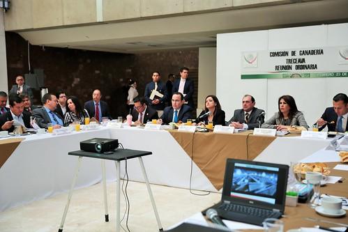 El jueves 23 de febrero de 2017 se realizó la XII Reunión Ordinaria de la Comisión de Ganadería de la H. Cámara de Diputados.