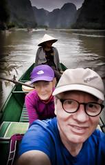 Halong Bay on Land boat trip Impression