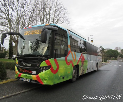 SCANIA Interlink LD CNG - CAPS SCANIA France