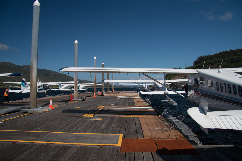 Seaplanes at Taquan Air