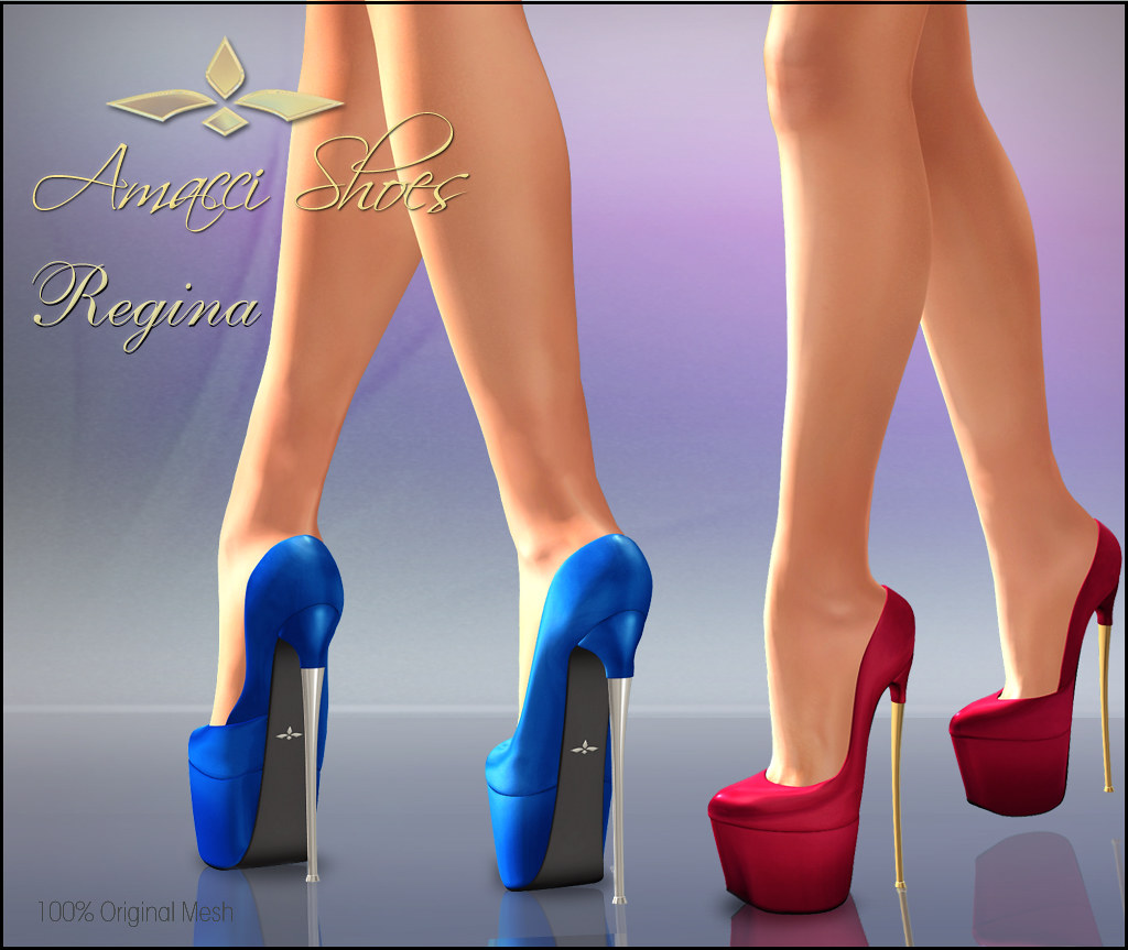 Amacc Shoes Regina - SecondLifeHub.com