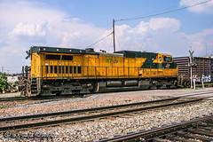 CNW 8729 | GE C44-9W | UP Memphis Subdivision