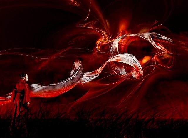 Le dernier souffle Dragon Rouge...