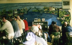 Diners at Voula's, 1975