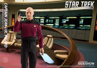 Quantum Mechanix 星際爭霸戰【尚–路克.畢凱艦長】Captain Jean-Luc Picard 1/6 比例人偶作品