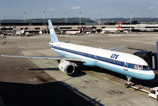 LTE International Airways Boeing 757-2G5 EC-256 basic  LTS - Lufttransport Süd  colors