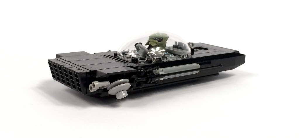 1962 Chrysler 300XH luxury sedan (custom built Lego model)