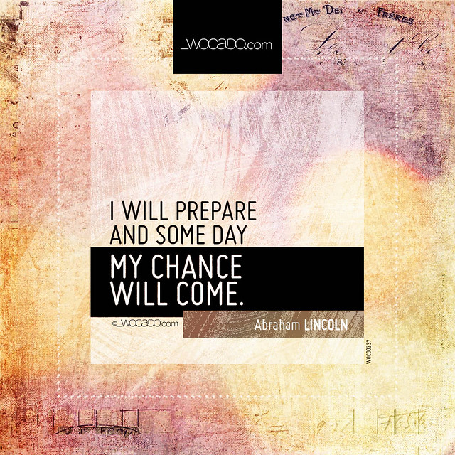 I will prepare and some day by WOCADO.com