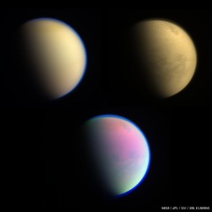 Three Views of Titan
