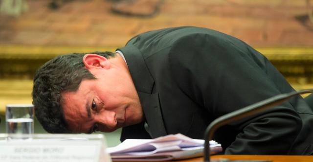 Especialistas afirmam que decisão de Moro (acima) não tem amparo legal - Créditos: Lula Marques/ Agência PT