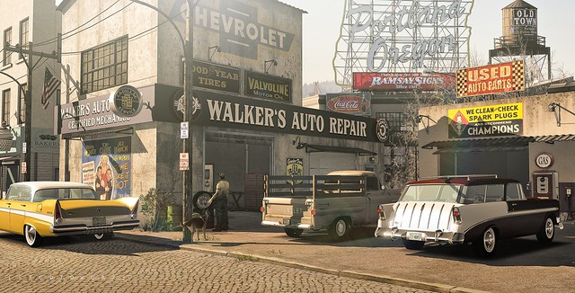[STUDIOWORX] - Oregon 1959 - Walker's Auto Repair