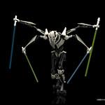 《星際大戰》組裝模型系列 – 葛里維斯將軍 GENERAL GRIEVOUS™ グリーヴァス将軍 1/12スケールプラモデル
