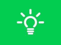 logo, green, illustration,