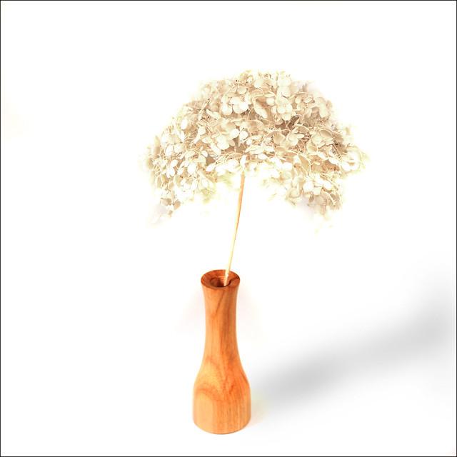Canarywood Bud Vase