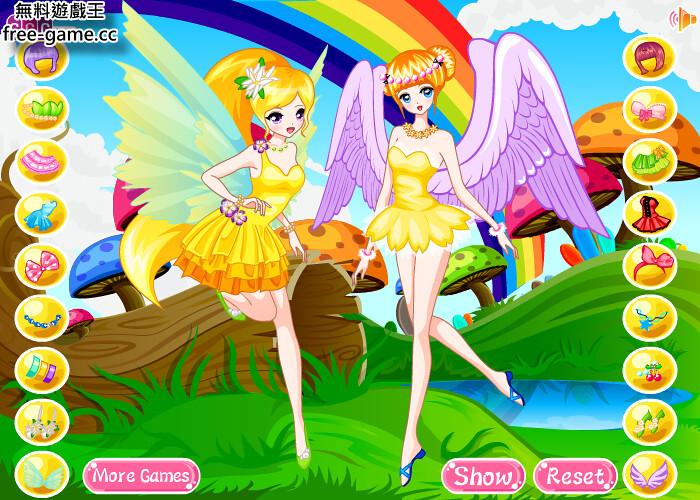 [女生游戏]可爱小仙子换装(cute fairies dressing up